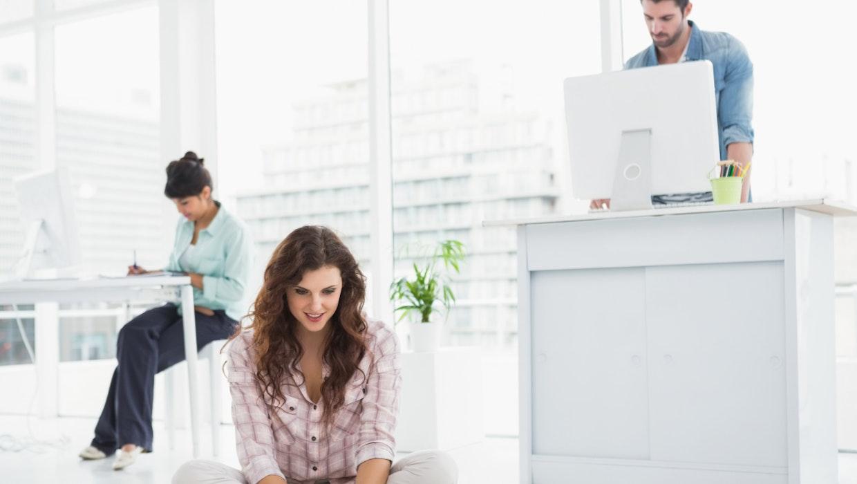 Gesundheitsrisiko Sitzen: Wie wir auch im Office fit bleiben können