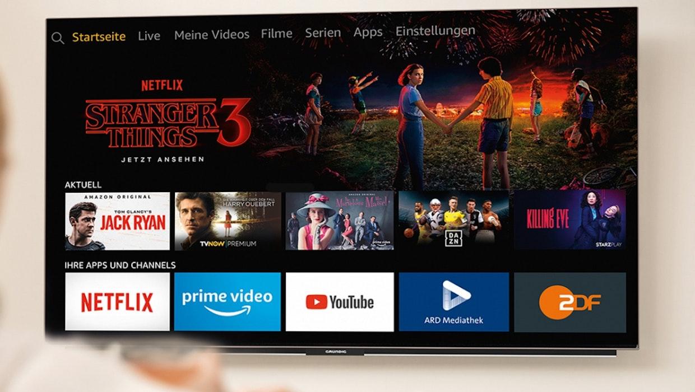 Amazon verbündet sich mit Grundig und Anker – baut Fire-TV in TV-Geräte und Soundbars