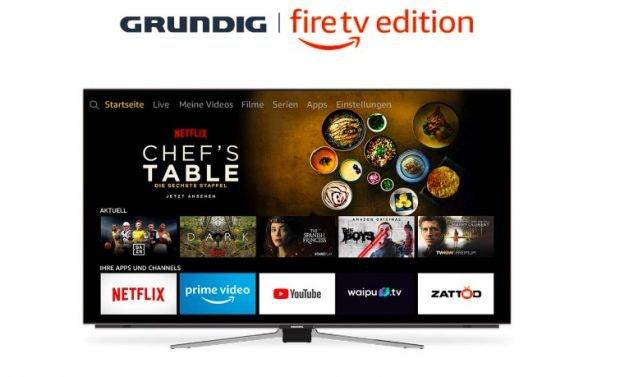 Amazon Grundig Fire TV. (Bild: Amazon)