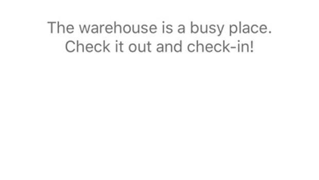 Die Aufgaben, die Unternehmen bei Orglynx ihren Mitarbeitern stellen können, sind divers. Das kann ein per GPS-Check-In bestätigter Besuch einer Location... (Bild: Apple / Orglynx)