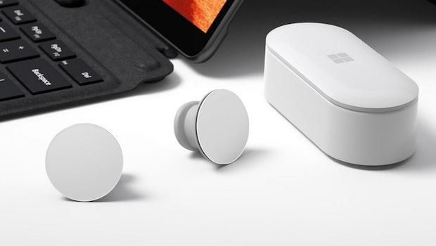 Microsofts Surface Earbuds. (Bild: Microsoft)