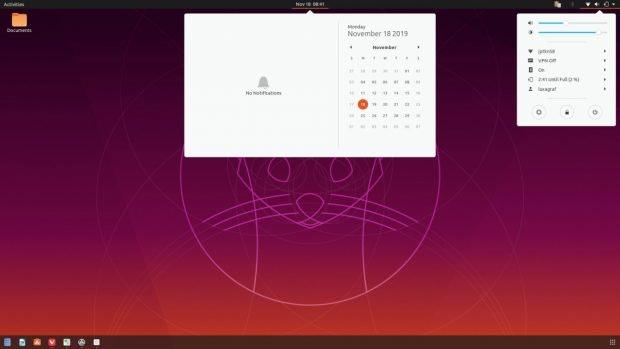 Ubuntus überarbeitetes Yaru-Theme. (Quelle: Ars Technica)