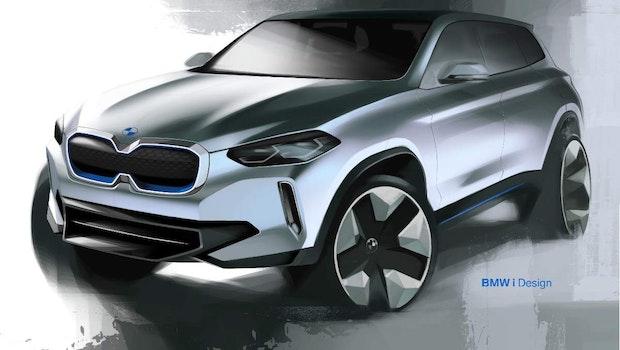 BMWs E-Drive der fünften Generation kommt zuerst im iX3. (Foto: BMW)