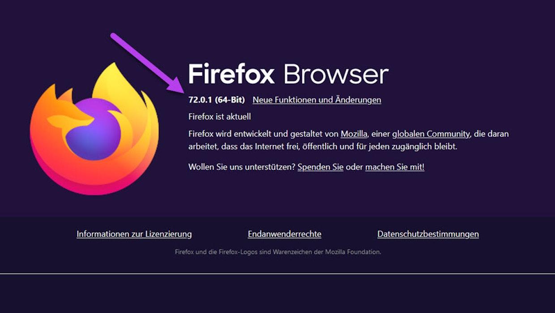 Zero-Day-Exploit: Firefox-Update auf 72.0.1 schließt gefährliche Lücke