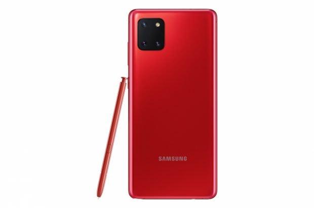Samsung Galaxy Note 10 Lite. (Bild: Samsung)