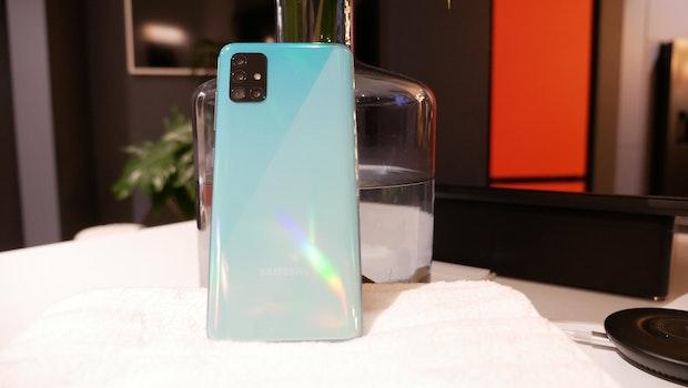 Samsung Galaxy A71. (Foto: t3n)