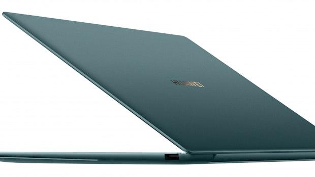 Huawei Matebook X Pro in Emerald Green. (Bild: Huawei)