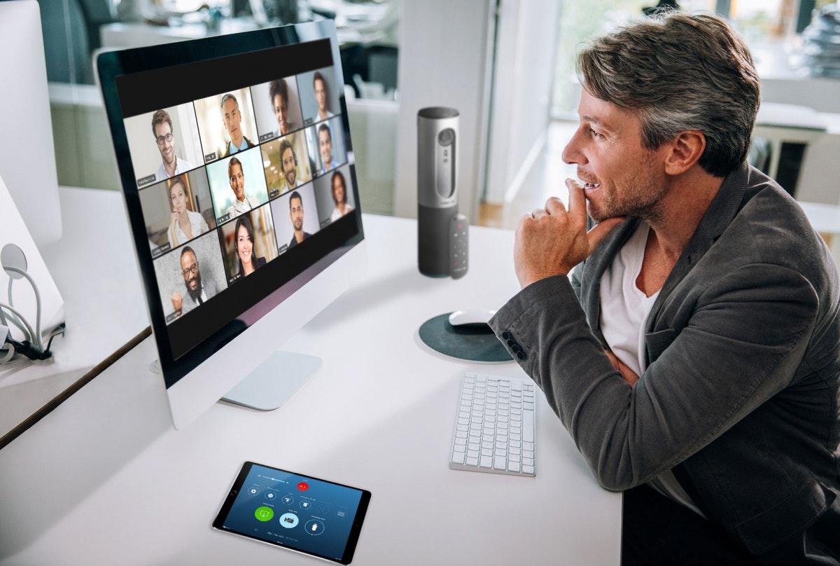 Symbolbild Videokonferenz-Software im Vergleich
