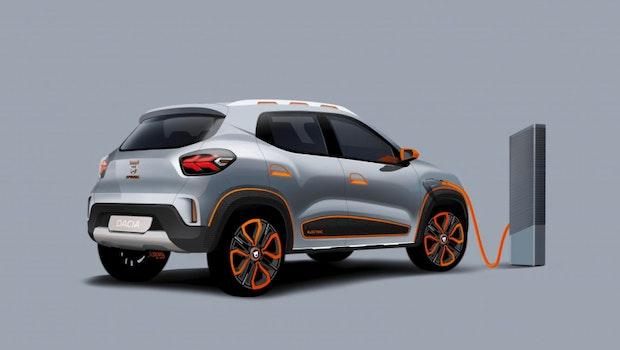 Der Dacia Spring Electric. (Foto: Renault)