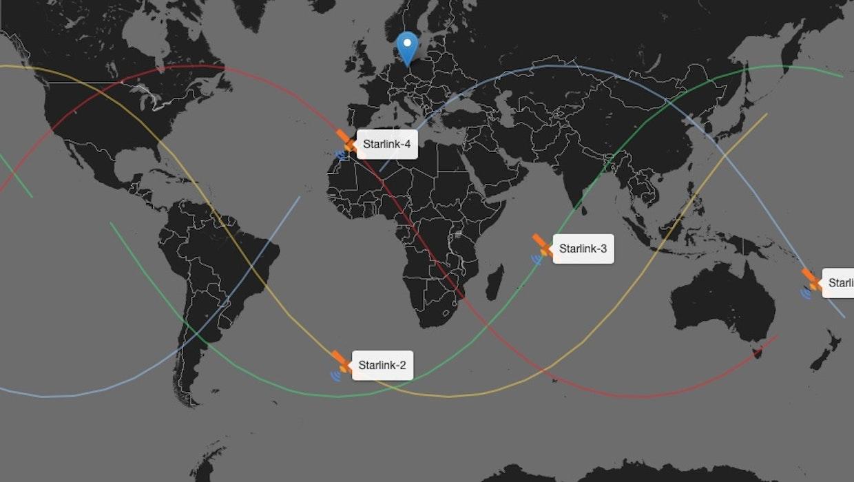 Starlink: Website sagt dir, wann Elon Musks Satelliten-Kolonne vorbeifliegt