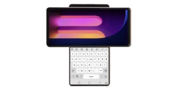 LG Wing Dual Screen Display