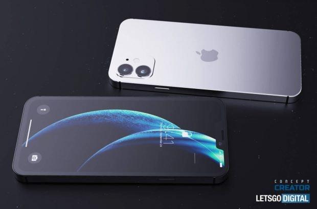 So könnte das iPhone 12 mit 5,4-Zoll-Bildschirm aussehen