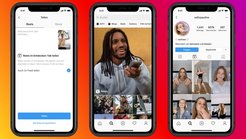 Instagram bringt Tiktok-Klon Reels nach Deutschland
