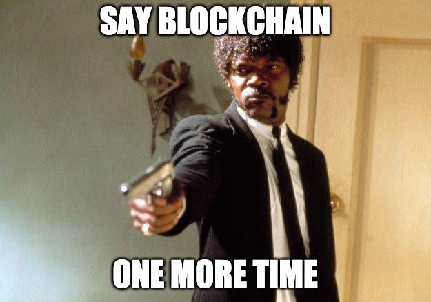 Blockchain als Buzzword