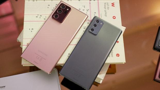 Samsung Galaxy Note 20 Ultra 5G und Note 20. (Foto: t3n)