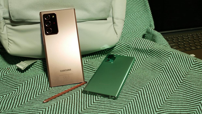 Samsung Galaxy Note 20 Ultra im Hands-on: Das sind die Unterschiede zum Note 20