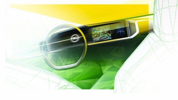 Pure-Panel im Opel Mokka-E