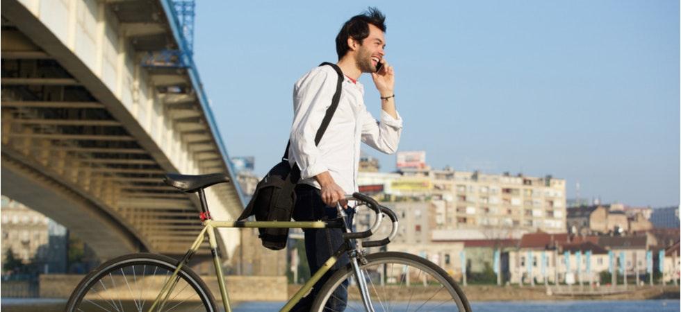 Telefonieren unterwegs mit Cloud-Telefonanlage