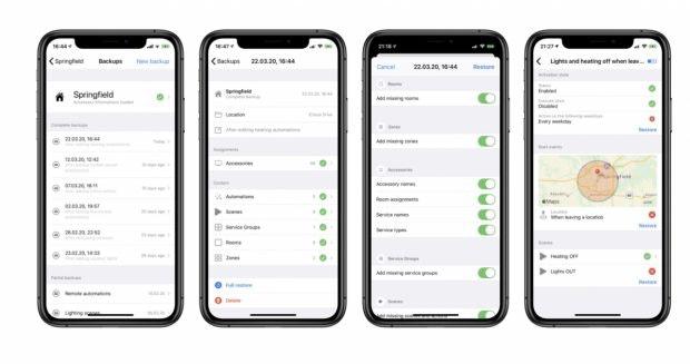 Smarthome-App Controller for Homekit
