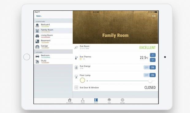Smarthome-App Eve für Homekit