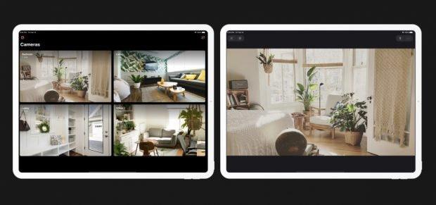 Smarthome-App Homecam für Homekit