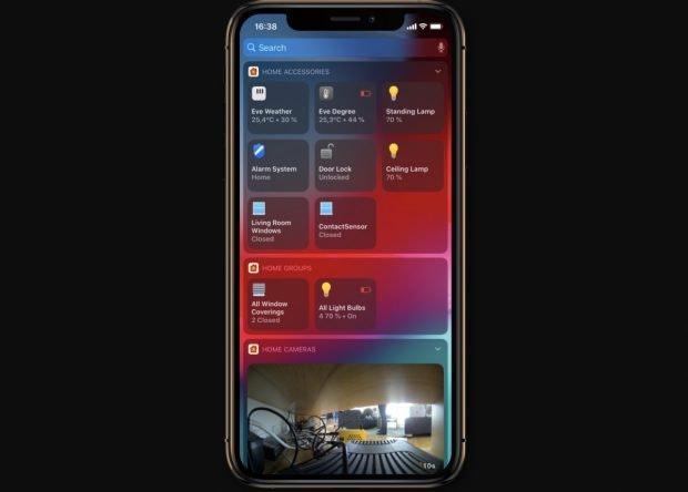 Smarthome-App Home+ für Homekit