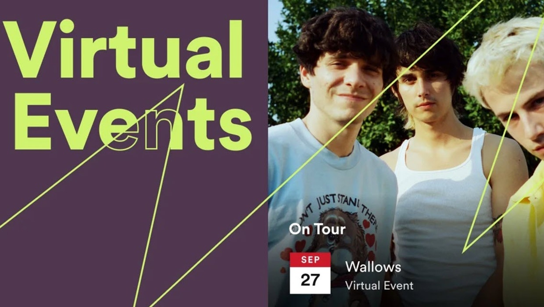 Konzerte in Coronazeiten: Spotify zeigt jetzt virtuelle Events an