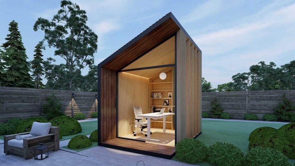 Zen Work Pod: Homeoffice im Garten