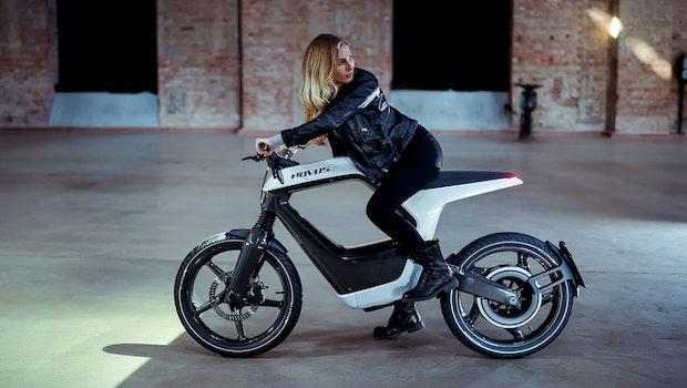 Novus: E-Motorrad neu gedacht. (Foto: Novus)