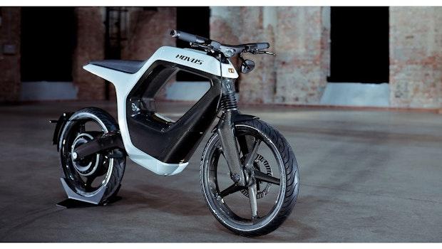 Das Novus ist ein superleichtes E-Motorrad aus Braunschweig. (Foto: Novus)