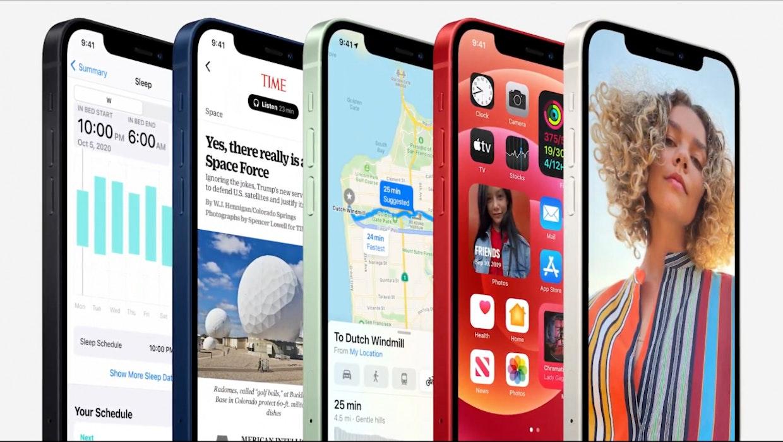 iPhone 12 im Vergleich mit Samsung Galaxy Note 20 Ultra, Oneplus 8 Pro, Sony Xperia 1 II und Huawei P40 Pro