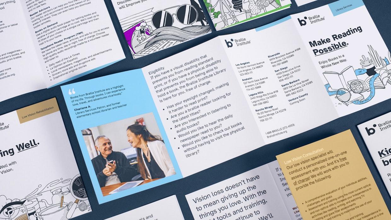 Entworfen für Menschen mit eingeschränktem Sehvermögen: Atkinson Hyperlegible Font