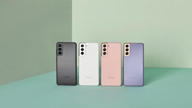 Samsung Galaxy S21 in allen Farben. (Foto: Samsung)