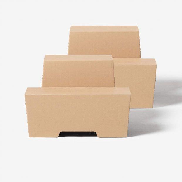 Eine günstige Alternative zum höhenverstellbaren Schreibtisch aus Pappe