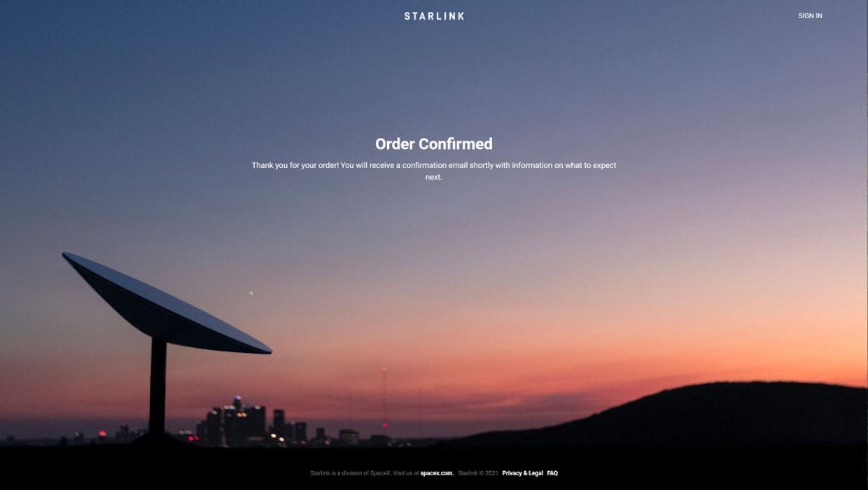 Starlink: Elon Musk promette il regolare funzionamento dell'accesso a Internet via satellite da ottobre