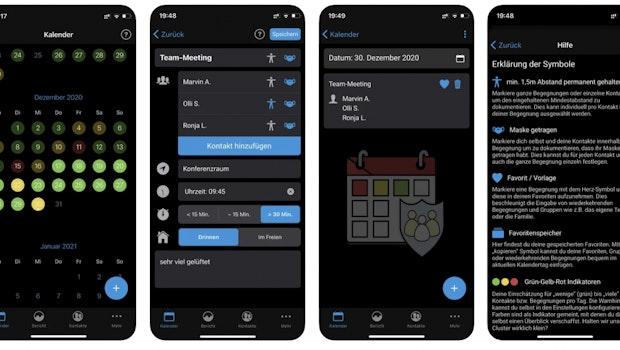 Cluster-Diary ist eine interessante Kontakttagebuch-App – und sie ist komplett kostenlos. Lies mehr in unserem t3n-Artikel.
