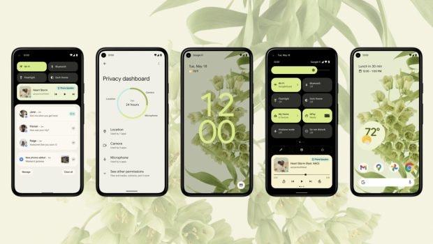 Android 12 Update bringt neues Design