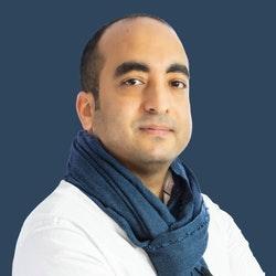 Ein Porträt von Karim Jouini, dem CEO und Mitbegründer von Expensya