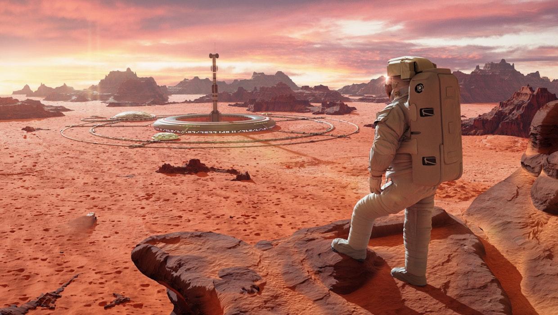 Mumien auf dem Mars: Was mit gestorbenen Menschen auf dem Roten Planeten passiert