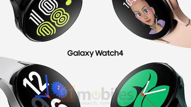 So soll die Samsung Galaxy Watch 4 aussehen. (Bild: 91 Mobiles)