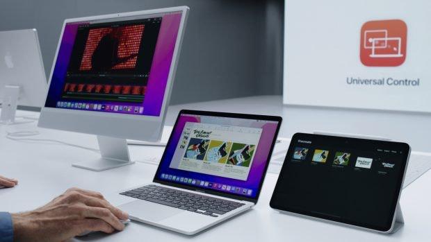 Universal Control MacOS 15