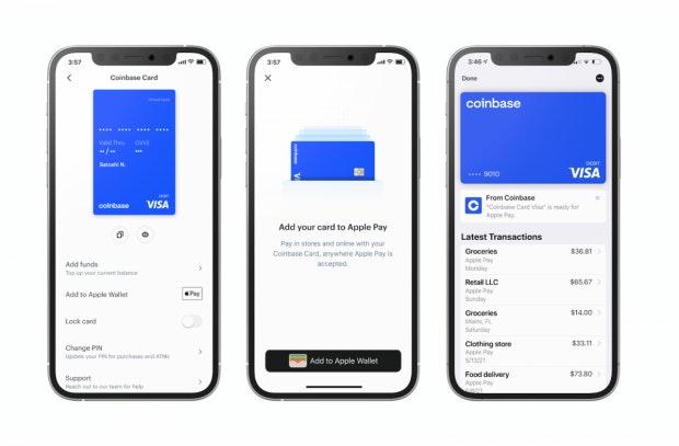 Coinbase-Debitkarte bietet Krypto-Cashback und Integration in