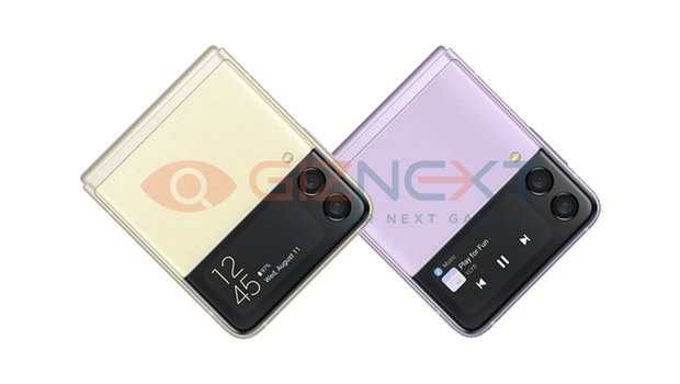 So soll das Samsung Galaxy Z Flip 3 aussehen. (Bild: Giznext)