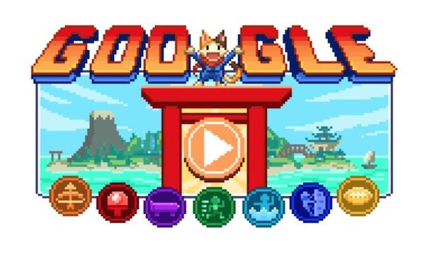 Längstes Google-Doodle aller Zeiten bringt 7 Retrogames für Olympia