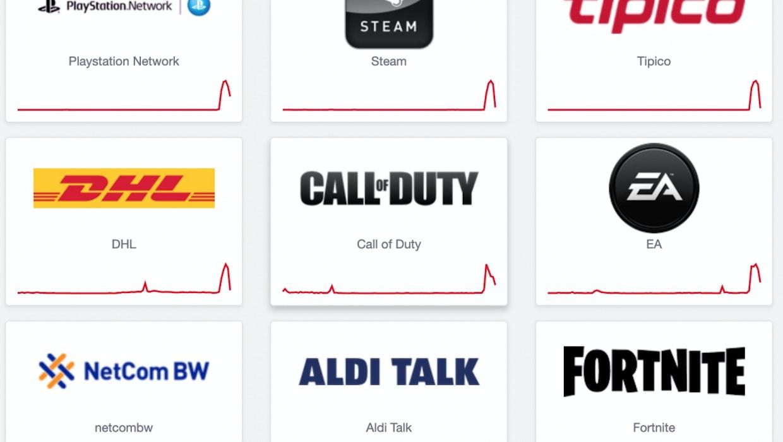 Massiver Internetausfall betraf Amazon, Playstation und Dutzende andere