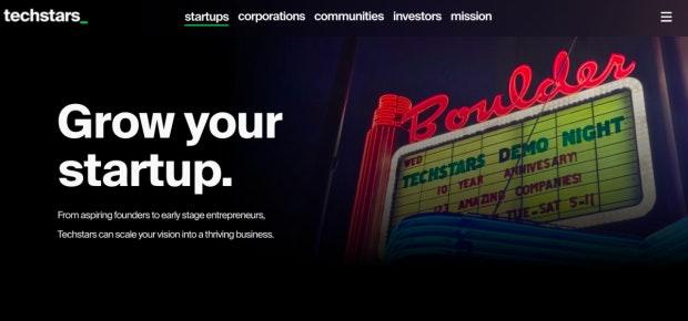 Nach den Sternen greifen: Techstars unterstützt Startups mit einem dreimonatigen Programm (Screenshot:t3n).