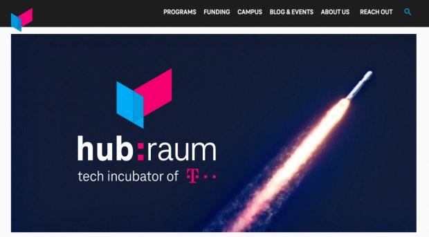 Bereit zum Abheben? Der Accelerator der Telekom möchte Startups voran bringen(Screenshot: t3n).