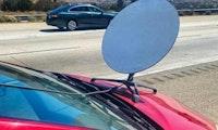 WLAN im Toyota: Starlink-Antenne auf dem Auto führt zum Strafzettel