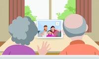 Zoom & Co.: Virtueller Kontakt schadet Senioren mehr als totale Isolation