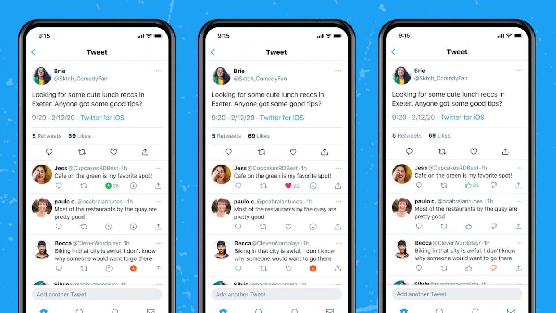 Up- und Downvotes: Twitter kopiert Reddit